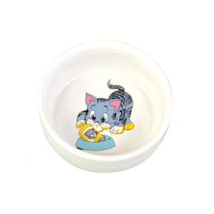 Miska ceramiczna dla kota TRXIE 0,3 l/ø 11 CM