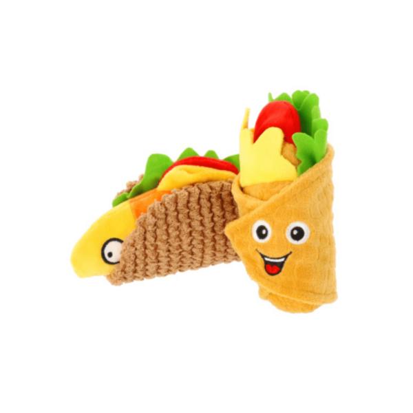 Zabawka-pluszowa-dla-psa-burito-tacos