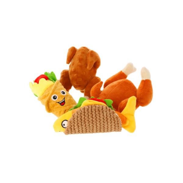 Zabawka-pluszowa-dla-psa-jedzonko