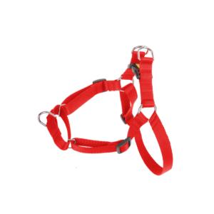 Szelki dla psa ciągnącego DINGO Easy Walk czerwone i czarne 100 cm