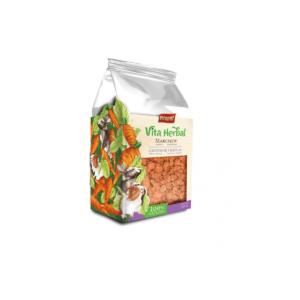 Gałązki leszczyny z marchewką dla gryzoni i królików VITAPOL Vita Herbal 50 g