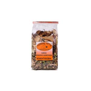 Karma ziołowa-warzywna dla Koszatniczki HERBAL PETS 150 g